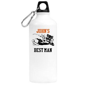 Best Man Water Bottle