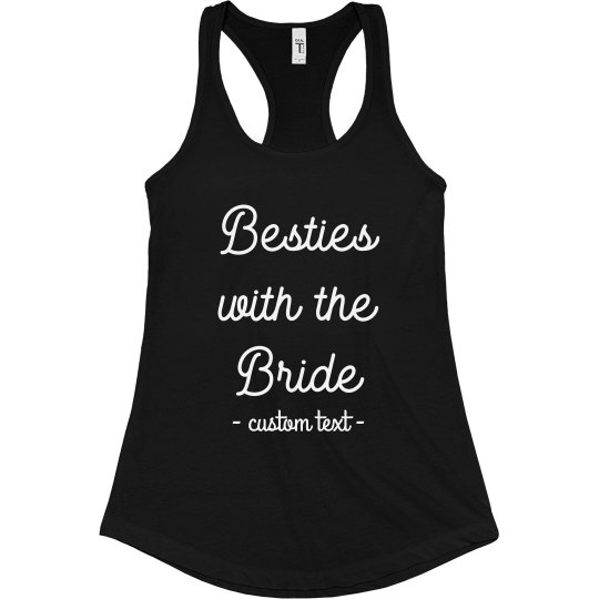 Besties with the Bride Tank