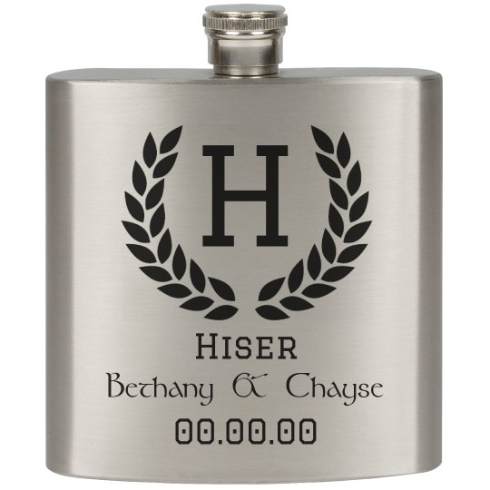 Bethany & Chayse Flask