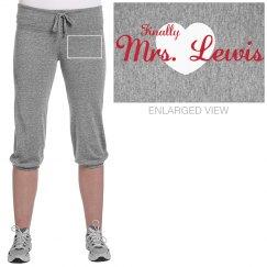 Finally Mrs. Lewis