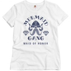 Mermaid Gang Bachelorette Maid Of Honor Matching