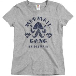 Mermaid Gang Bridesmaid Bridal Party Matching