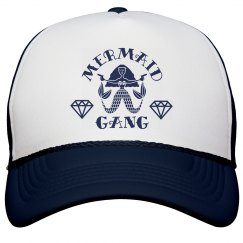 Cute Mermaid Gang Bachelorette Beach Hats