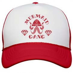 Mermaid Gang Bachelorette Party Matching Hats