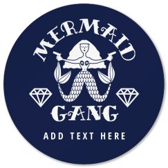 Mermaid Gang Bride To Be Bachelorette Party Gift