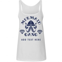 Nautical Mermaid Girl Gang Bride To Be Custom Text