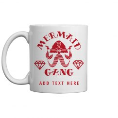 Mermaid Gang Bachelorette Party Coffee Mug Gift