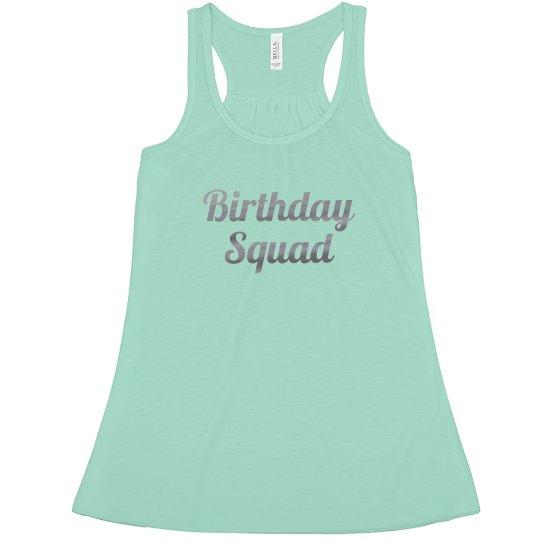 Birthday Squad Tee