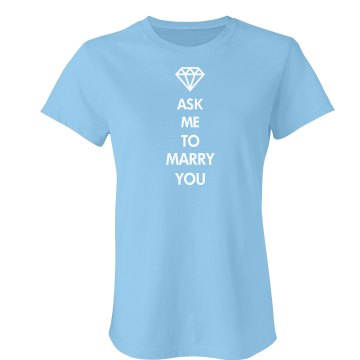Blue Ask Me to Marry You