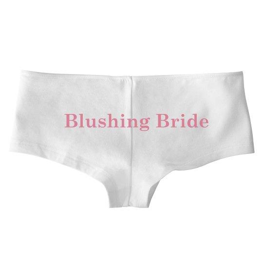 Blushing Bride Undies
