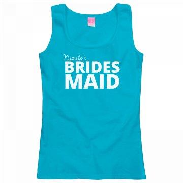 Bold Bridesmaid