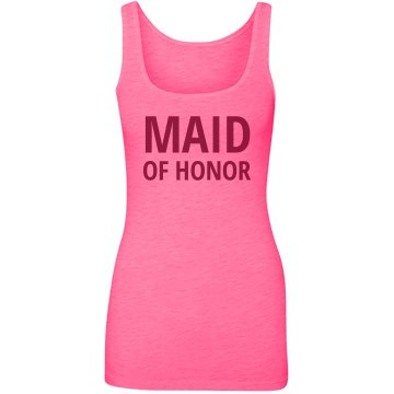 Bold Maid Of Honor