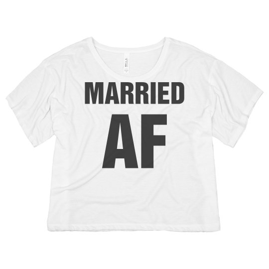 Bold Married AF Crop