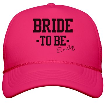 Bold Neon Bride To Be