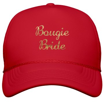 Bougie Bride Gold Metallic
