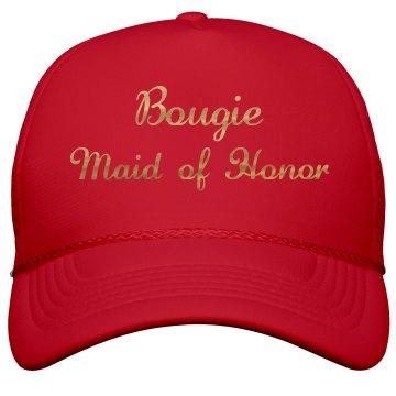 Bougie Maid of Honor Gold Metallic