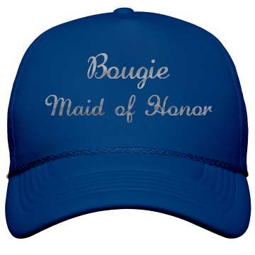 Bougie Maid of Honor Silver Metallic