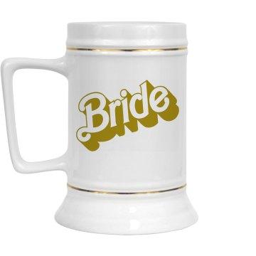 Bridal Party Drinking Stein