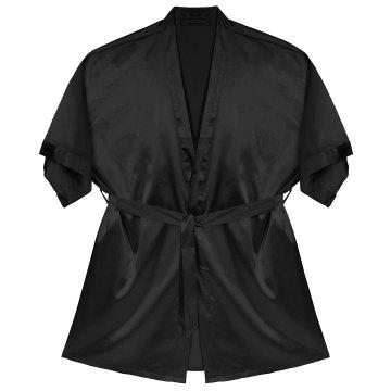 Bridal Party Robe Short (Black)