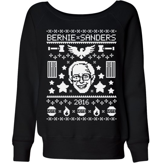 Bride & Bernie Sanders
