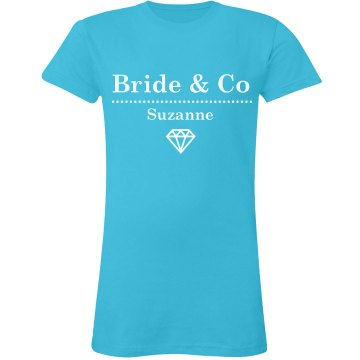 Bride & Co Diamond Tee