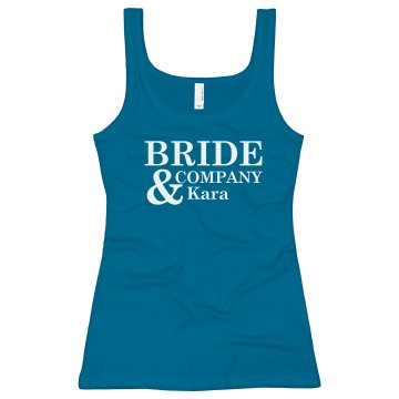 Bride And Company Tank
