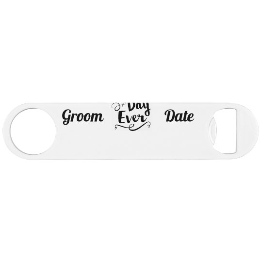 Bride and Groom Keepsake Bottle Opener
