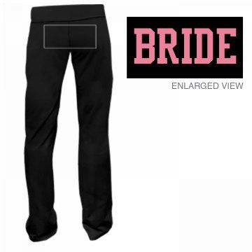 Bride Back Fitness Pants