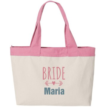 Bride Canvas Bag