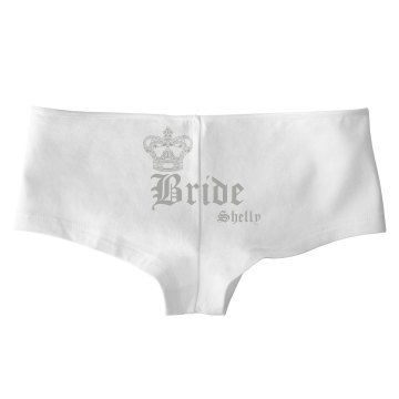 Bride Crown Hot Shorts