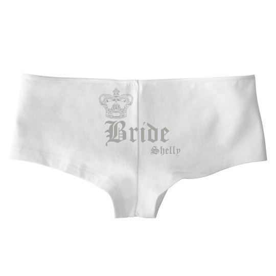 Bride Crown Hot Shorts
