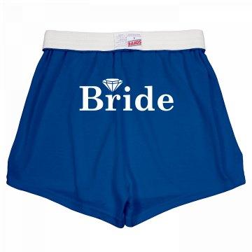 Bride Diamond Shorts
