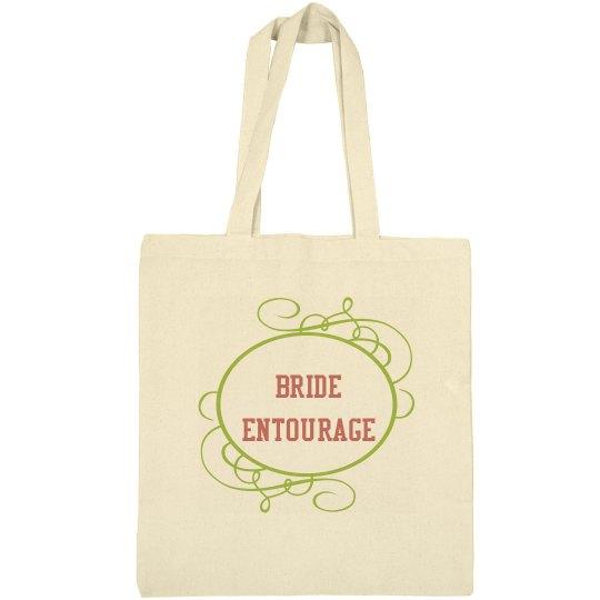 Bride Entourage Tote Bag