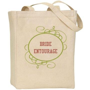 Bride Entourage Wedding Bag