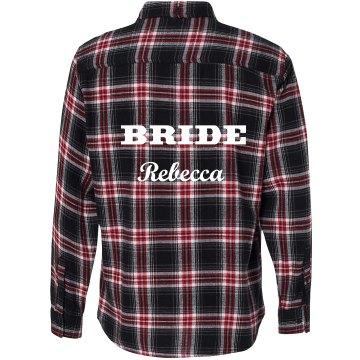 Bride Flannel Shirt