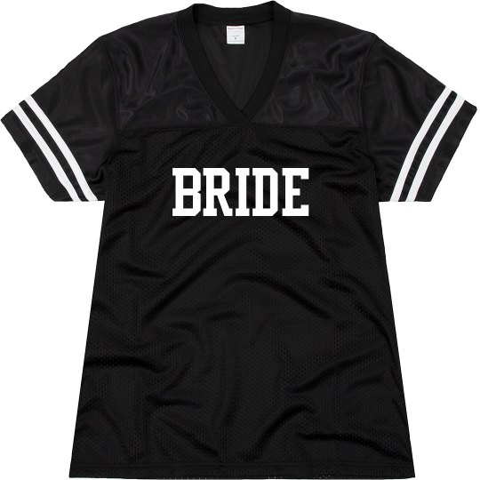 Bride Football Jersey