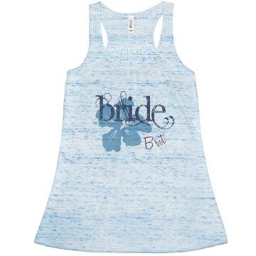Bride Hibiscus Tank