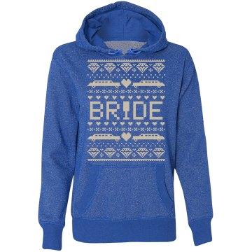 Bride Hoodie Sweatshirt