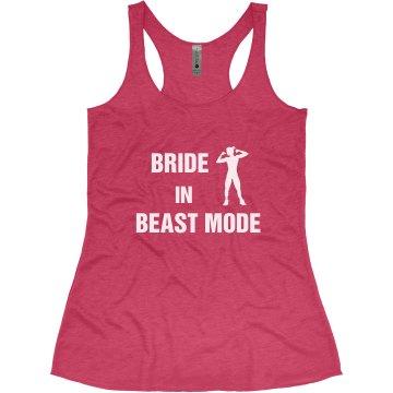 Bride in Beast Mode