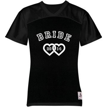 Bride Jersey w/Back