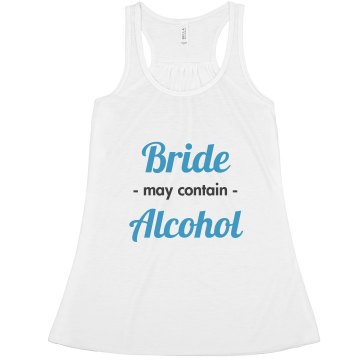 bride may contain alcohol