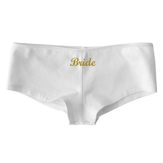 Bride- Panties