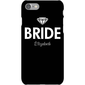 Bride Phone Cover