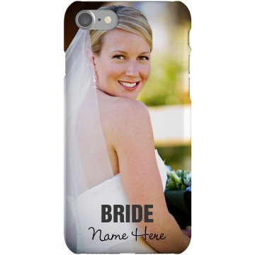 Bride Photo Phone Case