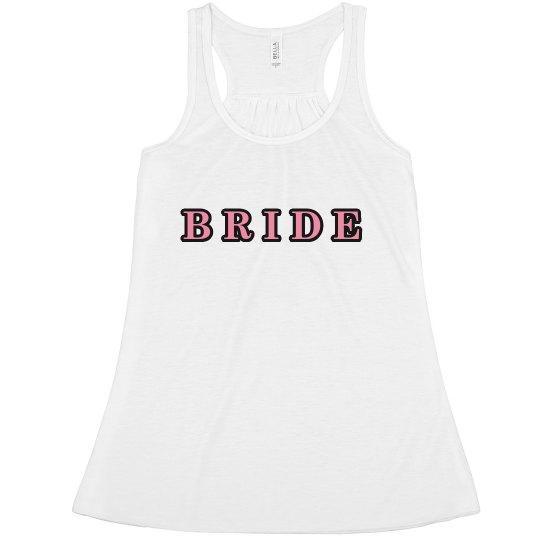 Bride Racerback tank