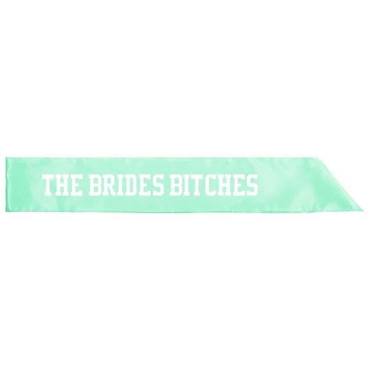 Bride Squad - Bridesmaids sash