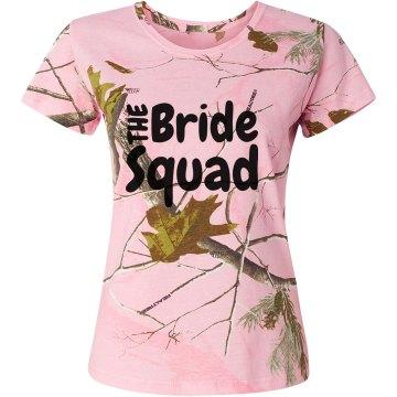 Bride Squad Camo Wedding