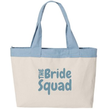 Bride Squad Canvas Bag