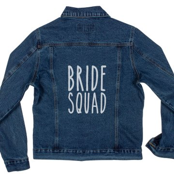 Bride Squad Denim Jacket
