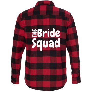 Bride Squad Flannel Shirt